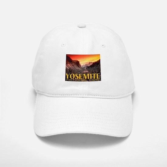 Yosemite National Park Baseball Baseball Cap