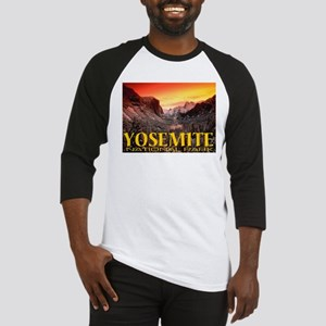 Yosemite National Park Baseball Jersey