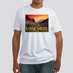 Yosemite National Park Fitted T-Shirt