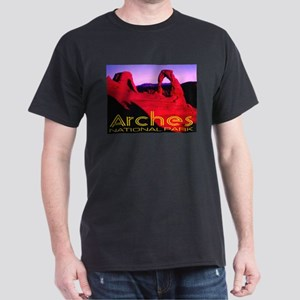 Arches National Park Black T-Shirt