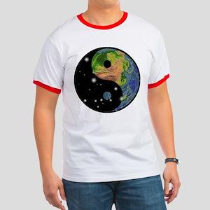 Yin Yang Earth Space Ringer T