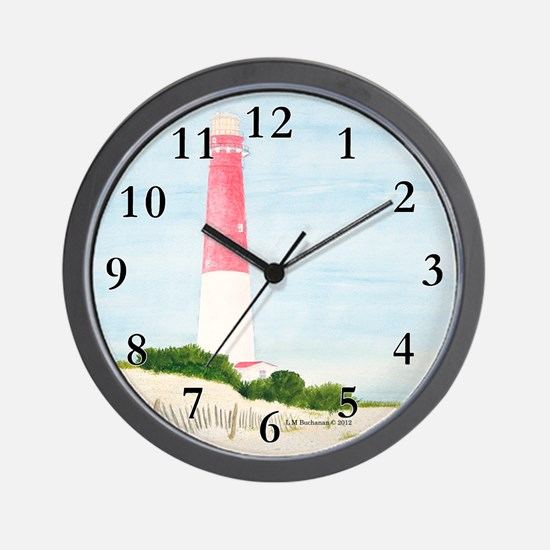 Barnegat Lighthouse Wall Clock