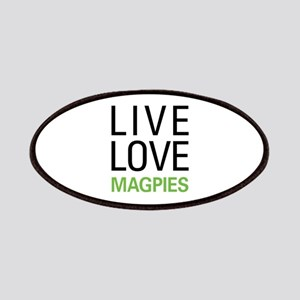 Live Love Magpies Patches