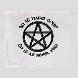 Do It at Revel Fire Throw Blanket