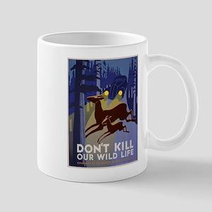 Wild Life WPA Poster Mug