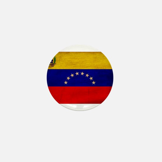 Venezuela Flag Mini Button