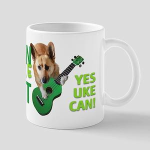 Bozeman Ukulele Cabaret Yes Uke Can Mug