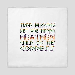 Tree Hugging Queen Duvet