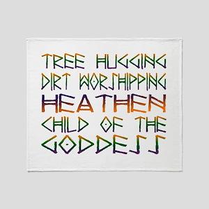 Tree Hugging Throw Blanket
