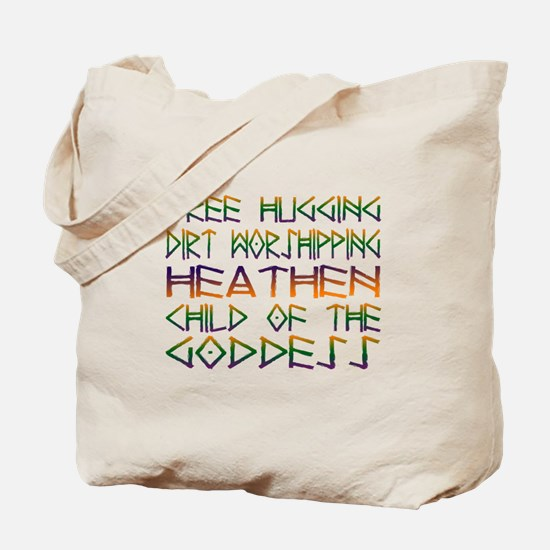 Tree Hugging Tote Bag