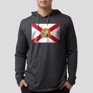 State Flag of Florida Mens Hooded Shirt