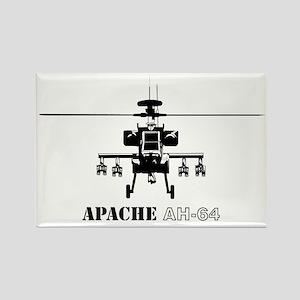 Apache AH-64D Rectangle Magnet