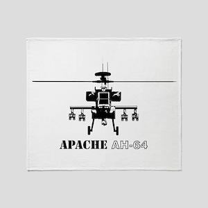 Apache AH-64D Throw Blanket