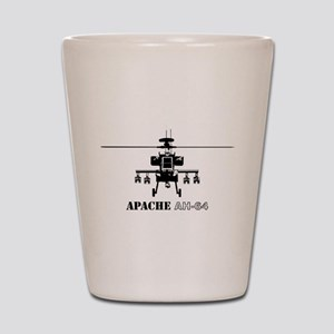 Apache AH-64D Shot Glass