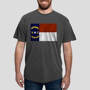North Carolina Flag Mens Comfort Colors Shirt