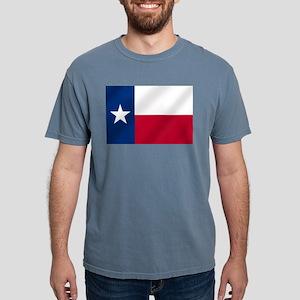 Flag of Texas Mens Comfort Colors Shirt