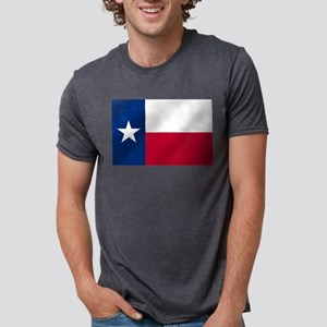 Flag of Texas Mens Tri-blend T-Shirt