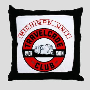 Michigan Unit Throw Pillow