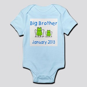Big Brother Frogs 0113 Infant Bodysuit