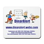 DinarAlert Conference Call Mousepad