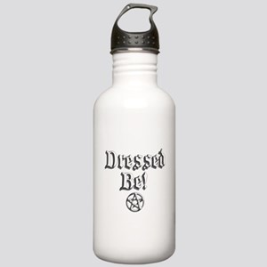 Dressed Be Wht Stainless Water Bottle 1.0L