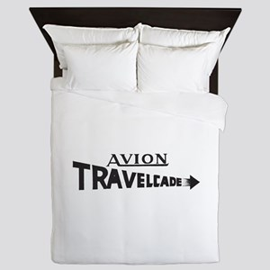 Early Travelcade Logo Queen Duvet