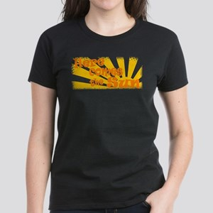 Here Comes the Sun Women's Dark T-Shirt