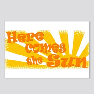 Here Comes the Sun Postcards (Package of 8)