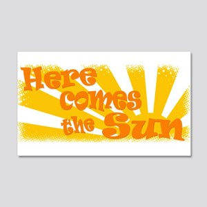 Here Comes the Sun 22x14 Wall Peel