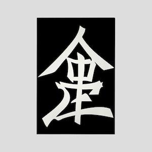 Lambda Phi Epsilon Logo Rectangle Magnet