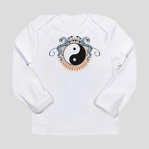 Yin Yang Symbol Long Sleeve Infant T-Shirt