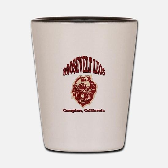 Roosevelt Leos Shot Glass