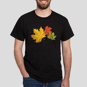 Three Leaves Dark T-Shirt