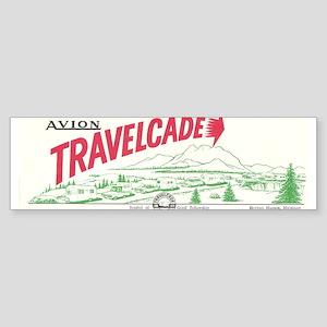 Avion Travelcade Club Mounta Sticker (Bumper)
