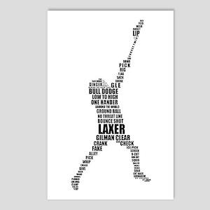 Lacrosse Lingo Postcards (Package of 8)