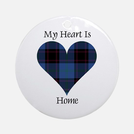 Heart - Home Ornament (Round)