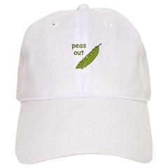 Peas Out... Peace Out! Baseball Cap