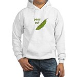 Peas Out... Peace Out! Hooded Sweatshirt