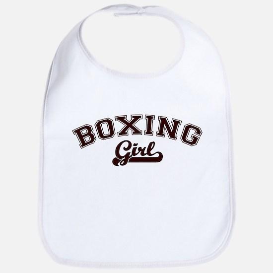 Boxing girl Bib