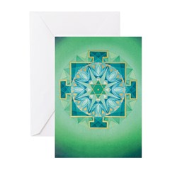 Mercury Yantra Cards (6) (for nr.5 peopl