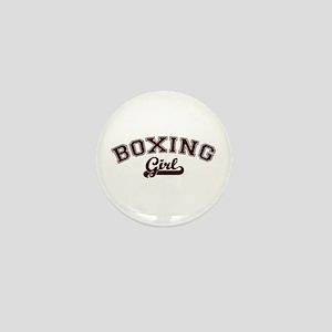 Boxing girl Mini Button