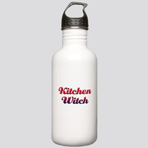 Kitchen Witch Stainless Water Bottle 1.0L