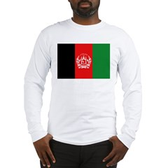 Afghanistan Flag Long Sleeve T-Shirt