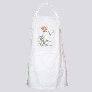 CALIFORNIA POPPY & SWALLOW - BBQ Apron