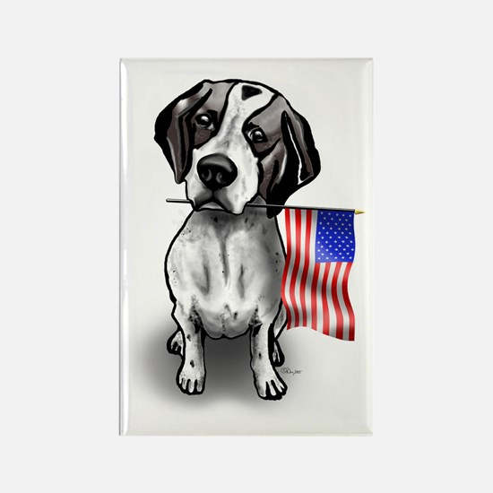 4th of July Pointer Rectangle Magnet
