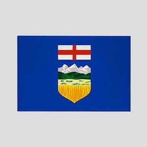 Alberta Flag Rectangle Magnet