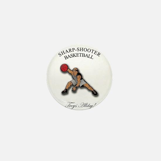 SHARP-SHOOTER - Treys Allday Mini Button
