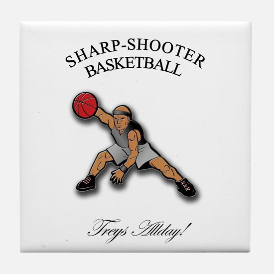 SHARP-SHOOTER - Treys Allday Tile Coaster