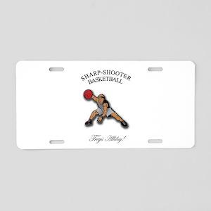 SHARP-SHOOTER - Treys Allday Aluminum License Plat