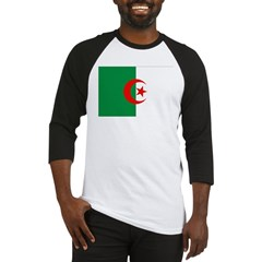 Algeria Flag Baseball Jersey